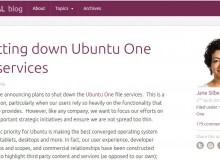 RIP Ubuntu One 1