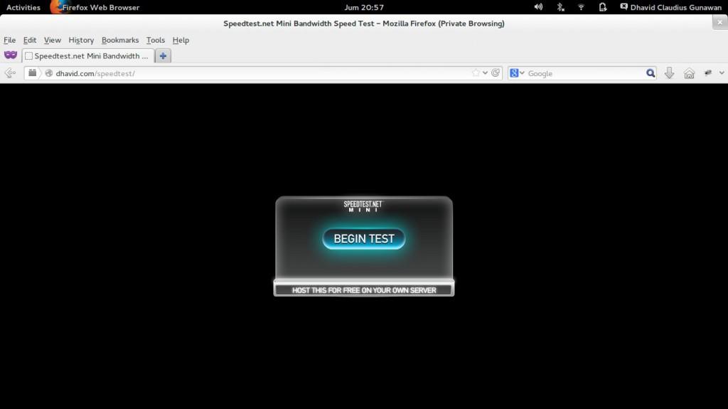 dhavid.com mini speedtest