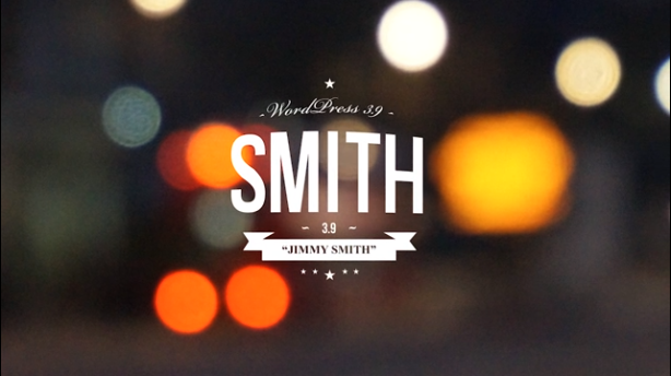 WordPress 3.9 Smith