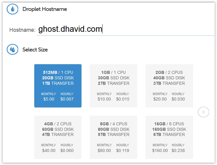 Ghost DigitalOcean 2