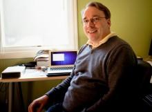 Ruang Kerja Linus Torvalds