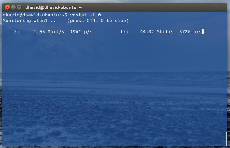 Bandwidth Monitoring Menggunakan vnStat pada Linux OS